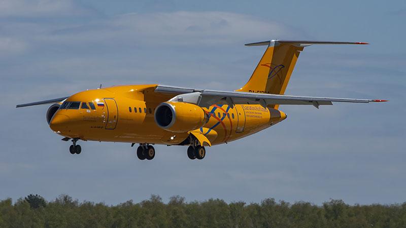 Foto de mayo de 2017 del avión accidentado
