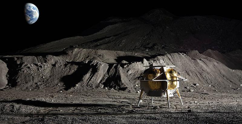 Aterrizador lunar de Astrobotics