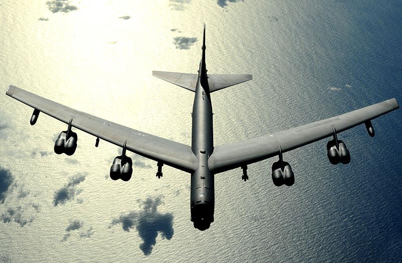 B-52 en vuelo
