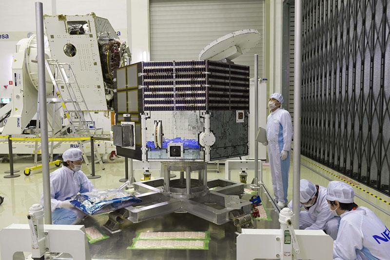 El MMO listo para su integración con el resto de los componentes de la misión