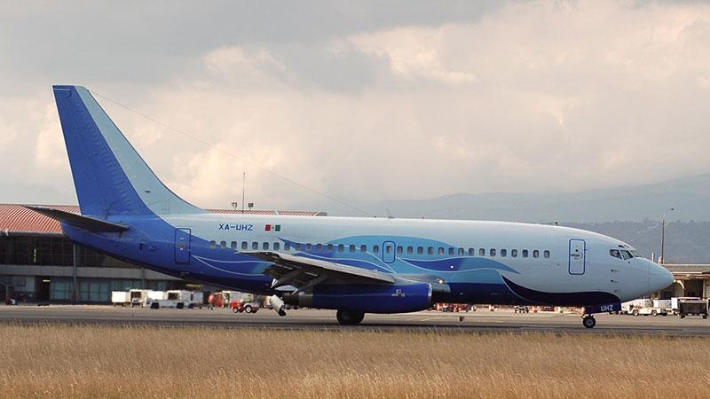 Foto de 2001 del avión accidentado