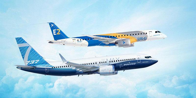 Boeing + Embraer