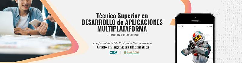 Técnico superior en desarrollo de aplicaciones multiplataforma