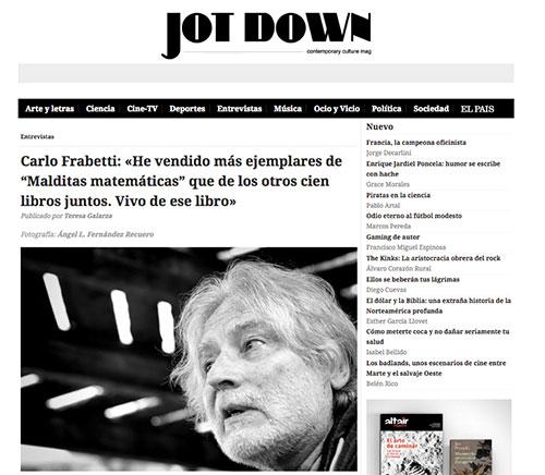 Carlo Frabetti / Jotdown