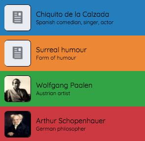 De Chiquito a Schopenhauer