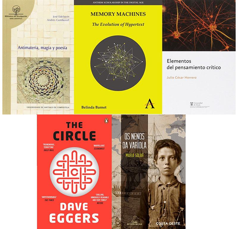 Cinco libros, cinco
