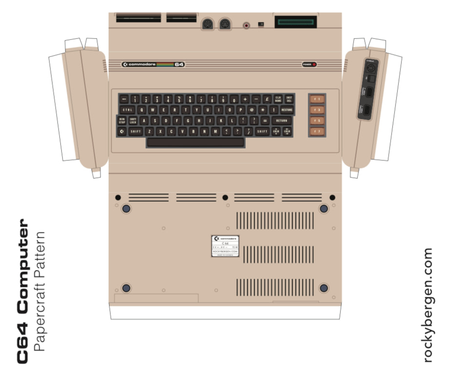 Commodore 64 Papercraft