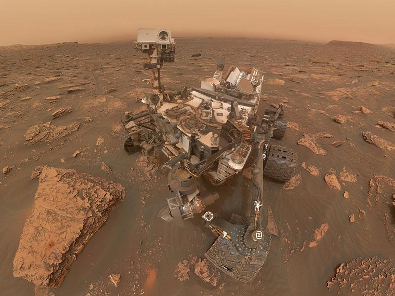 Curiosity en el sol 2082 de su misión