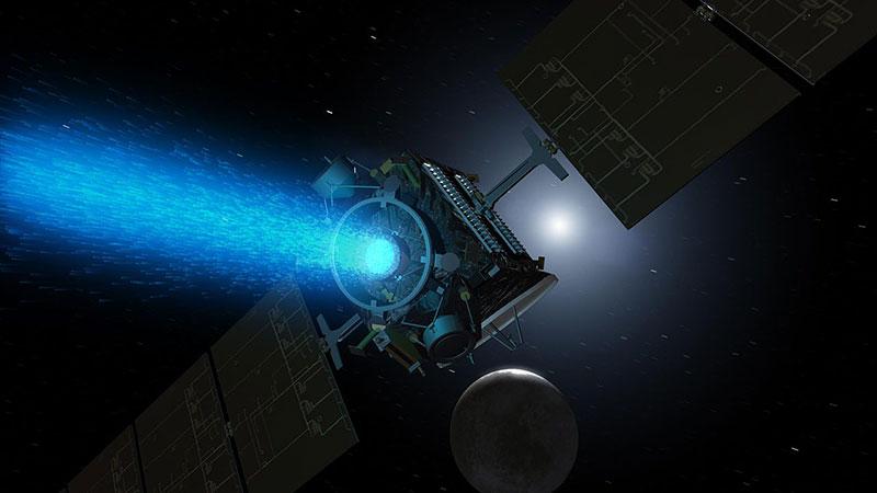 Dawn durante su aproximación a Ceres