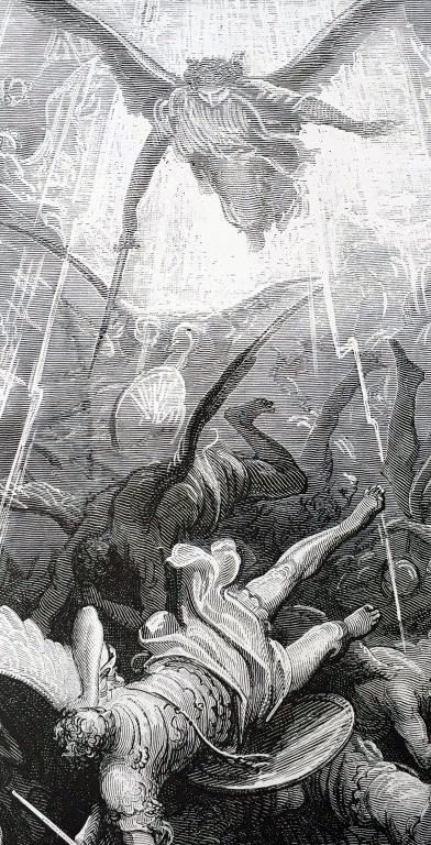 El paraíso perdido / Gustave Doré