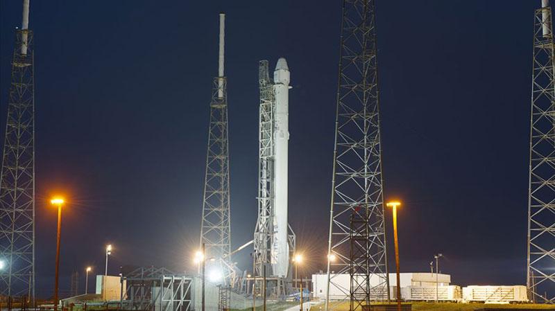 El Falcon 9 que la lanzará