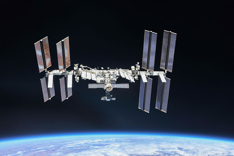 La Estación Espacial Internacional en octubre de 2018