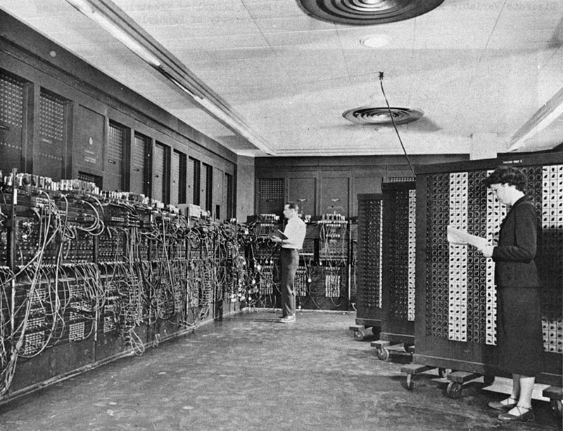 ENIAC, circa 1950