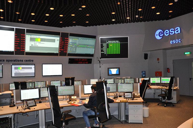 Sala de control del ESOC