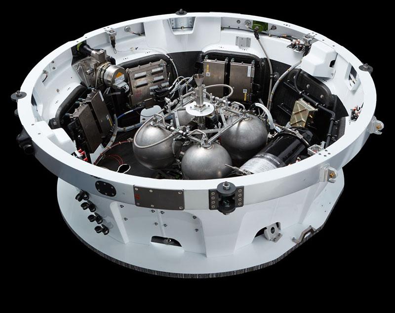 Tercera etapa del Electron de Rocket Lab
