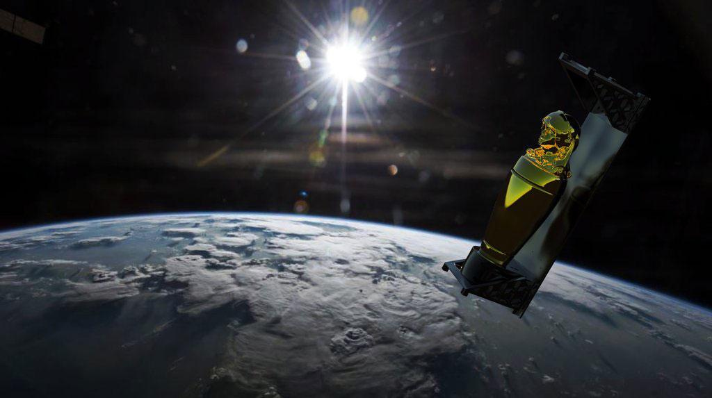 Impresión artística de Enoch en órbita