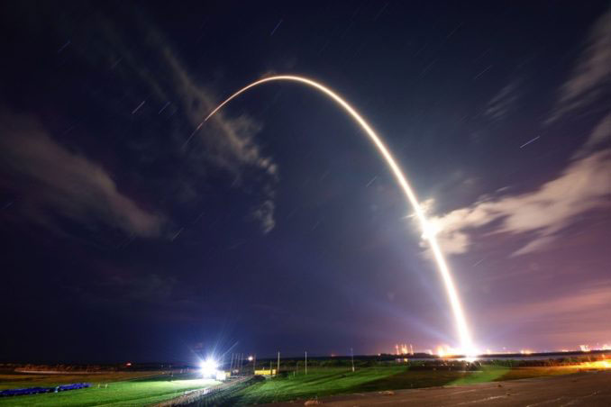 Lanzamiento del Telstar 18V