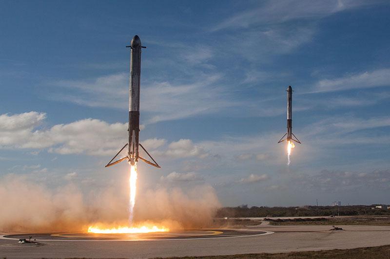 Póngame dos cohetes en lonchas finas, que son para los niños