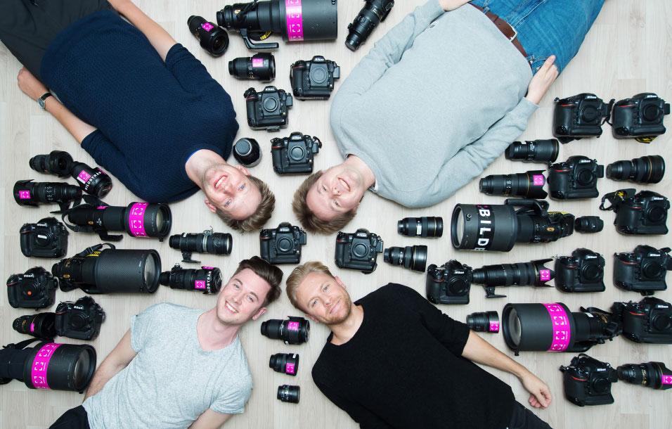 Fotógrafos Nikon