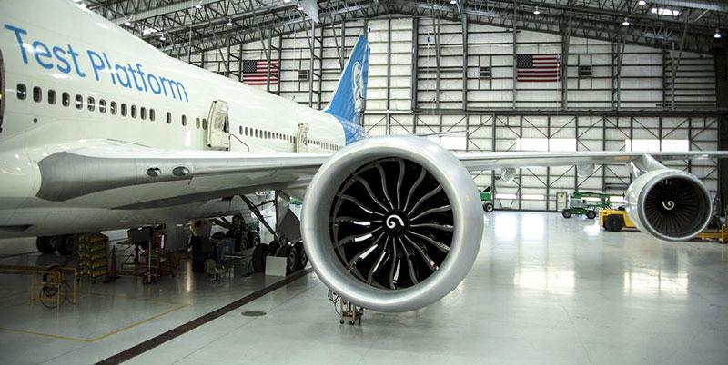 Impresión artística del Boeing 797