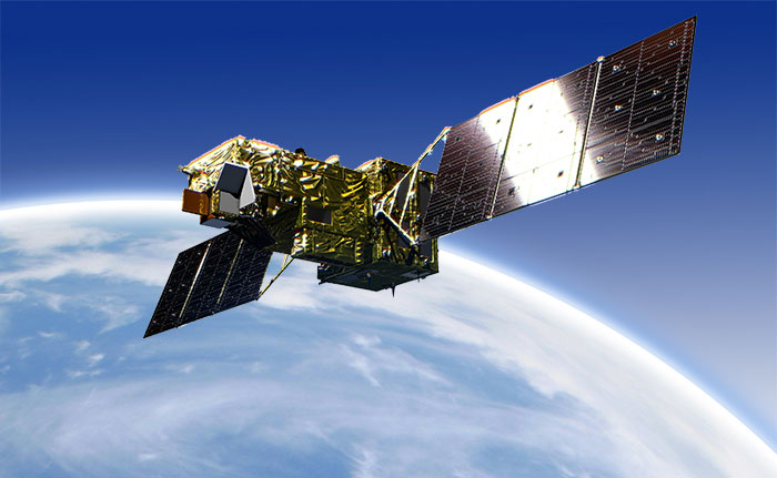 GOSAT 2 en órbita