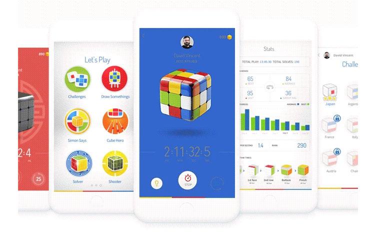 GoCube: un cubo de Rubik reinventado y conectado