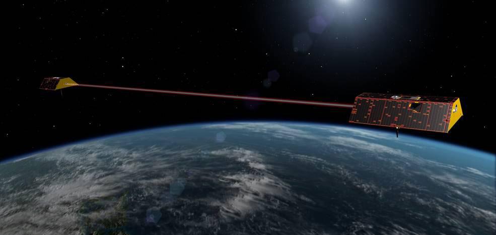 Los satélites Grace-FO