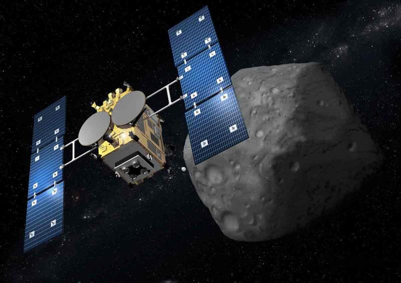 Resultado de imagen para Hayabusa espacio