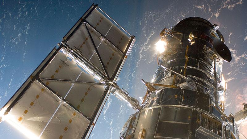 El Hubble en órbita