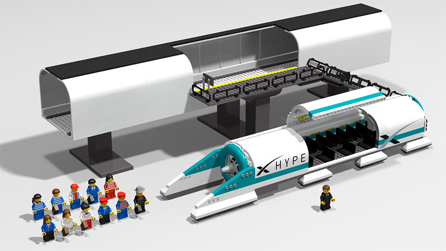 Lego Hyperloop