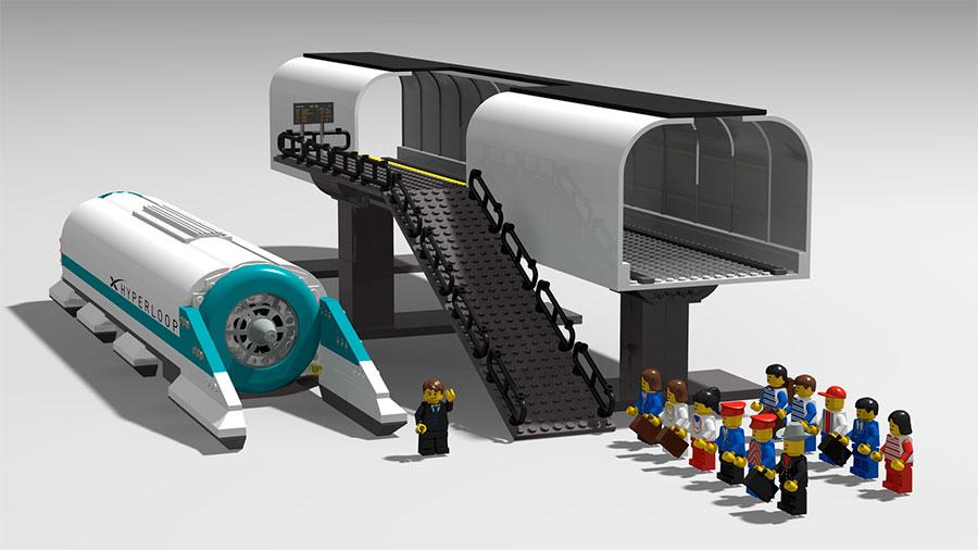 Lego Hyperloop