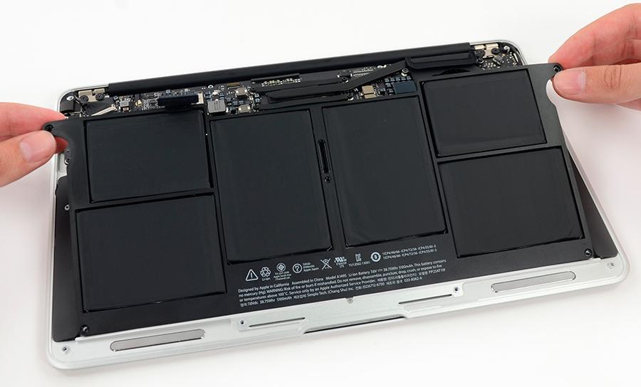 Cómo reemplazar una batería de Macbook Air