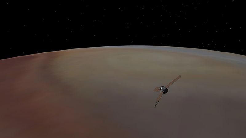 Juno sobre Júpiter