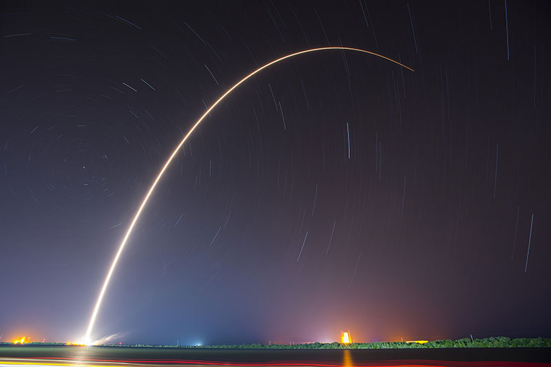 Lanzamiento del JCSAT-14