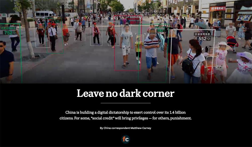 Leave no dark corner