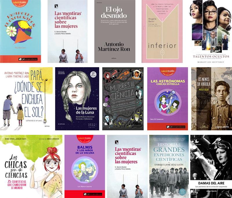 Selección de libros de Naukas Coruña 2018