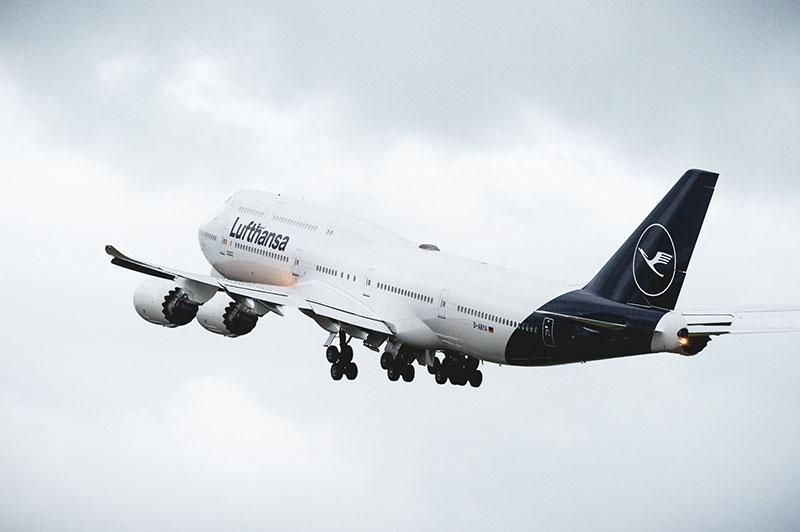 Un 747-8i con la nuevalibrea