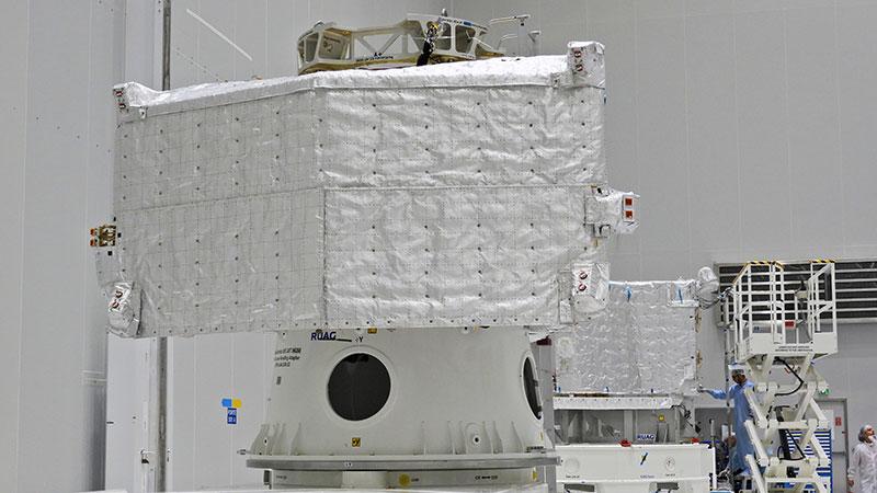 El Mercury Transfer Module también lleva sus mantitas