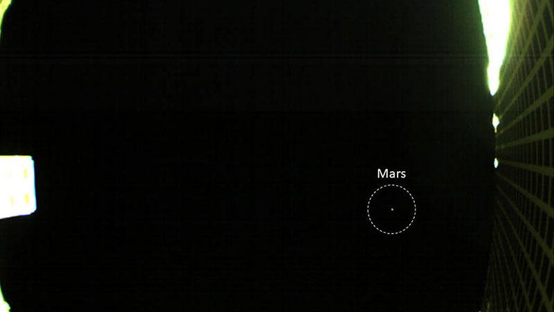 Marte a vista de CubeSat