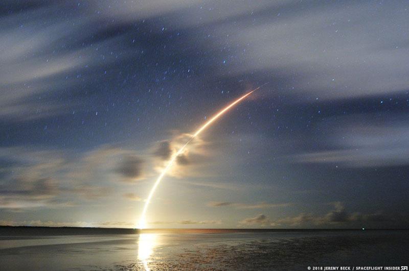 Lanzamiento del MetOp-C - Jeremy Becj / Spaceflight Insider