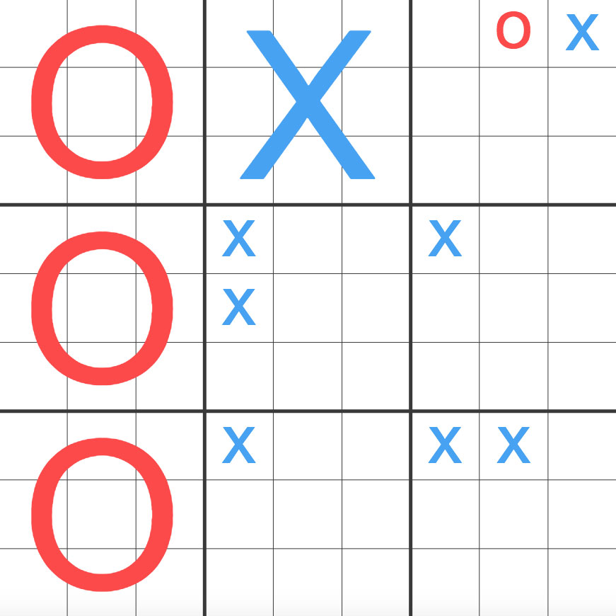Ultimate Tic-Tac-Toe
