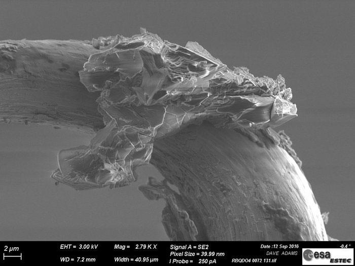 Partícula del asteroide Itokawa
