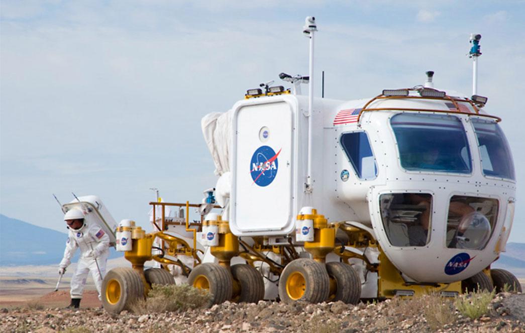 Pruebas de un vehículo para Marte