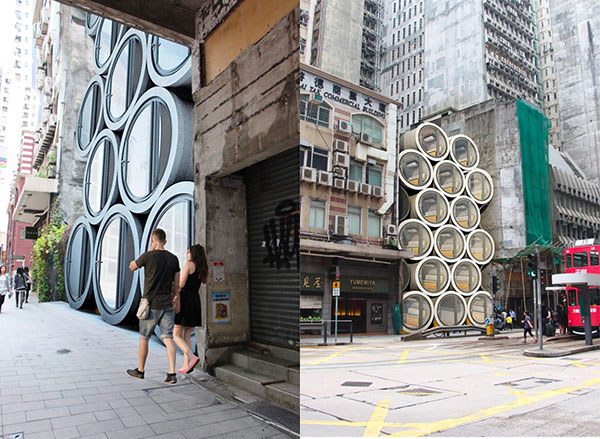 Opod TubeHouse (C) James Law Cybertecture