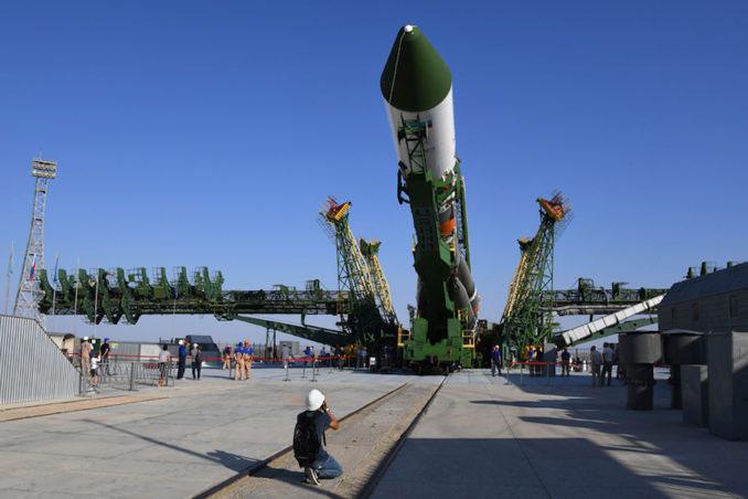 Levantando el cohete