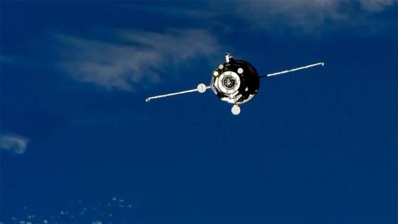 La Progress MS-10 aproximándose a la EEI
