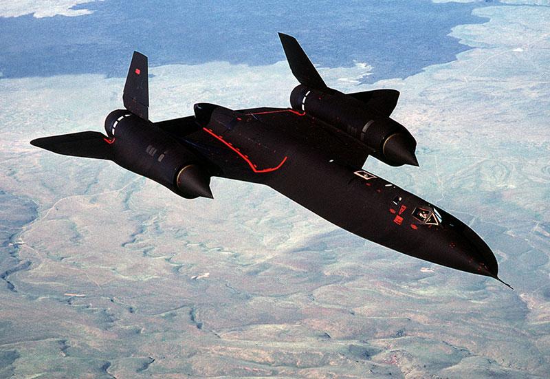 SR-71A en vuelo