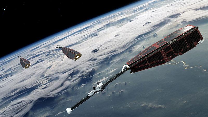 Los satélites Swarm