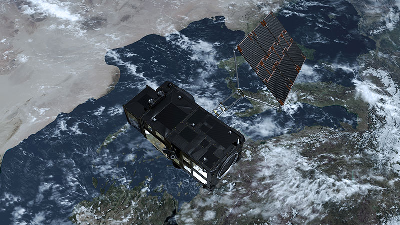 Sentinel-3 en el espacio