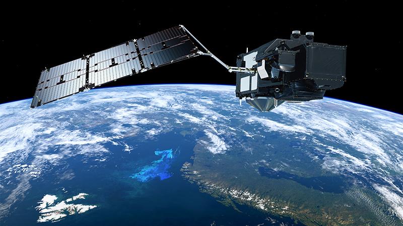 El Sentinel-3B en órbita